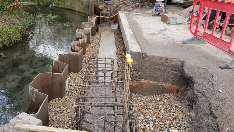 Winchester Flood Defence
